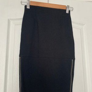 Aritzia Wilfred Lis skirt with side zippers
